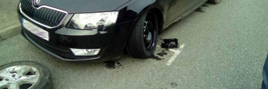 Ouch! Take the sting out of it with On The Spot Tyres